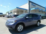2012 Twilight Blue Metallic Honda CR-V EX 4WD #65116770