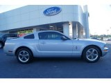 2005 Satin Silver Metallic Ford Mustang V6 Premium Coupe #65116642
