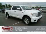 2010 Super White Toyota Tundra Limited Double Cab 4x4 #65116532