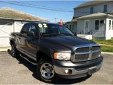 2002 Graphite Metallic Dodge Ram 1500 SLT Quad Cab 4x4 #65135549