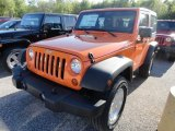 2012 Crush Orange Jeep Wrangler Sport S 4x4 #65138329