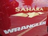 2012 Jeep Wrangler Sahara 4x4 Marks and Logos