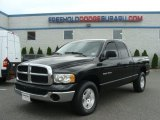 2004 Black Dodge Ram 1500 SLT Quad Cab 4x4 #65138561