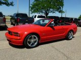 2007 Torch Red Ford Mustang GT Premium Convertible #65138041