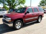 2004 Sport Red Metallic Chevrolet Tahoe LS 4x4 #65138040