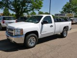 2012 Summit White Chevrolet Silverado 1500 LT Regular Cab 4x4 #65138037