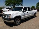 2003 Summit White Chevrolet Silverado 2500HD LS Extended Cab 4x4 #65138034