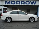 2011 White Suede Ford Fusion SEL #65138025