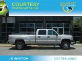 2005 Silver Birch Metallic Chevrolet Silverado 3500 LS Crew Cab 4x4 Dually #65137993