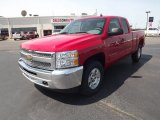 2012 Victory Red Chevrolet Silverado 1500 LT Extended Cab 4x4 #65138233