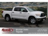 2012 Super White Toyota Tundra SR5 CrewMax 4x4 #65137910