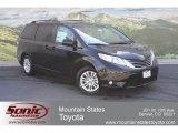 2012 Black Toyota Sienna XLE #65137905