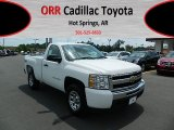 2011 Summit White Chevrolet Silverado 1500 LS Regular Cab 4x4 #65138209