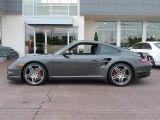 2007 Meteor Grey Metallic Porsche 911 Turbo Coupe #65137585