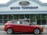 2012 Red Candy Metallic Ford Focus Titanium 5-Door #65138140