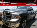 2009 Mineral Gray Metallic Dodge Ram 1500 SLT Quad Cab #65138101