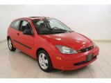 2003 Infra-Red Ford Focus ZX3 Coupe #65138343