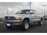 2004 Bright Silver Metallic Dodge Dakota SLT Club Cab 4x4 #65185087