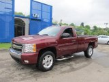 2008 Deep Ruby Metallic Chevrolet Silverado 1500 LT Regular Cab 4x4 #65184831