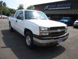 2003 Summit White Chevrolet Silverado 1500 Z71 Extended Cab 4x4 #65185301