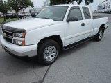 2006 Summit White Chevrolet Silverado 1500 LT Extended Cab 4x4 #65185041