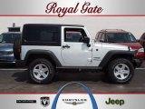 2012 Bright Silver Metallic Jeep Wrangler Sport S 4x4 #65185238