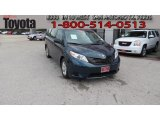2011 South Pacific Blue Pearl Toyota Sienna V6 #65184773