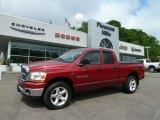 2006 Inferno Red Crystal Pearl Dodge Ram 1500 SLT Quad Cab 4x4 #65185013