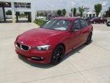 2012 Melbourne Red Metallic BMW 3 Series 328i Sedan #65185004