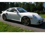 2007 Carrara White Porsche 911 Turbo Coupe #65184748