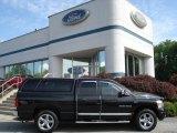 2007 Brilliant Black Crystal Pearl Dodge Ram 1500 Laramie Quad Cab 4x4 #65184738