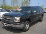 2003 Dark Gray Metallic Chevrolet Silverado 1500 LS Extended Cab 4x4 #65185192