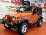 2006 Impact Orange Jeep Wrangler Sport 4x4 #65185177