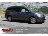 2012 Predawn Gray Mica Toyota Sienna XLE #65184651