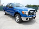 2012 Blue Flame Metallic Ford F150 XLT SuperCrew #65184911