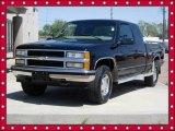 1999 Onyx Black Chevrolet Silverado 1500 LS Extended Cab 4x4 #65184899