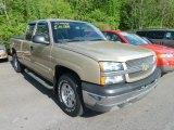 2004 Sandstone Metallic Chevrolet Silverado 1500 LS Extended Cab 4x4 #65184881