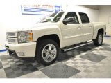 2012 White Diamond Tricoat Chevrolet Silverado 1500 LTZ Crew Cab 4x4 #65229298