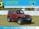2011 Deep Cherry Red Crystal Pearl Jeep Wrangler Sahara 4x4 #65229279