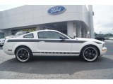 2005 Performance White Ford Mustang V6 Deluxe Coupe #65228758