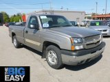 2003 Light Pewter Metallic Chevrolet Silverado 1500 Regular Cab #65229532