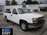 2003 Summit White Chevrolet Silverado 1500 Regular Cab #65229478