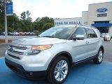 2011 Ingot Silver Metallic Ford Explorer Limited #65228662