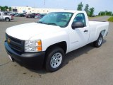 2012 Summit White Chevrolet Silverado 1500 Work Truck Regular Cab #65229106