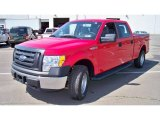 2011 Race Red Ford F150 XL SuperCab 4x4 #65228637
