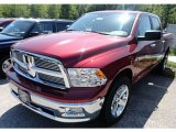 2012 Deep Cherry Red Crystal Pearl Dodge Ram 1500 SLT Crew Cab 4x4 #65229070