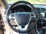 2013 Ford Explorer Limited EcoBoost Steering Wheel