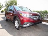 2012 Basque Red Pearl II Honda CR-V LX #65228552