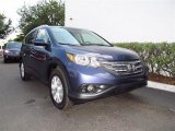 2012 Twilight Blue Metallic Honda CR-V EX-L #65228543