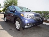 2012 Twilight Blue Metallic Honda CR-V EX-L #65228542